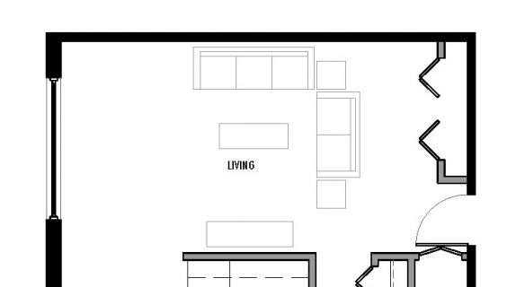 "Type ""B1″ Floor Plan"