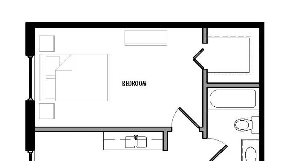 "Type ""C1″ Floor Plan"