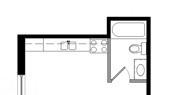 "Type ""E0″ Floor Plan"