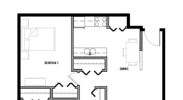 "Type ""I2″ Floor Plan"