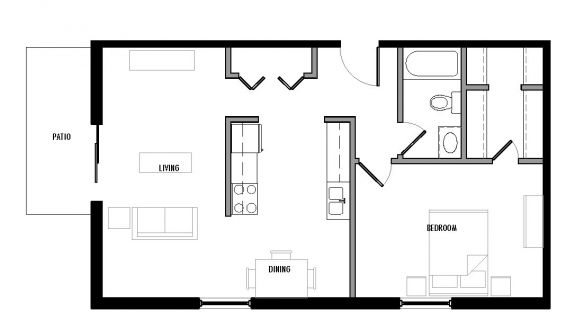 "Type ""G1″ Floor Plan"